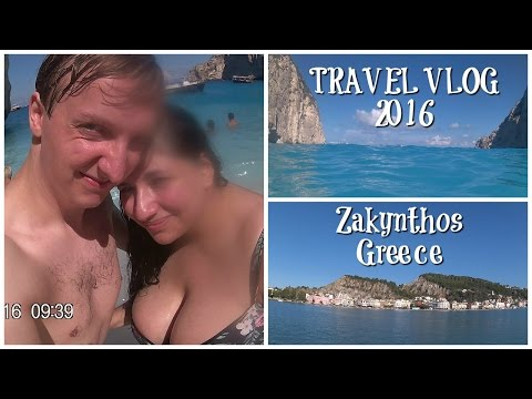 Zante, Greece Travel Vlog Part 1 | Travelling, Overnight Delay, Waterpark & Mini Golf! Marina Petrou