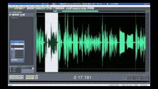 Cómo grabar sonido en la computadora parte 2 - Edición digital de audio