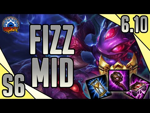 League of Legends - Void Fizz Mid - Full Smurf Ranked Game Commentary
