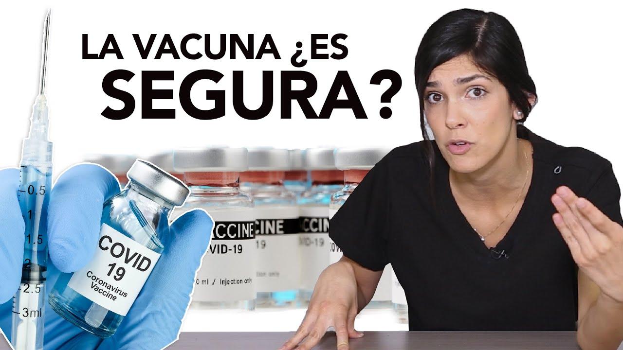 Qué tan segura es la vacuna de COVID19 | EFECTOS ADVERSOS | Dra. Jackie- Salud en Corto