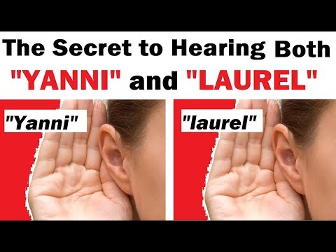 "The Secret to Hearing BOTH ""Yanni"" and ""Laurel"""
