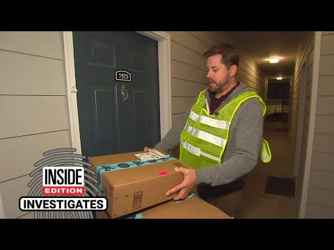 Inside Edition Producer Goes Undercover to Deliver Amazon Pa