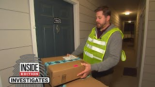 Inside Edition Producer Goes Undercover to Deliver Amazon Packages