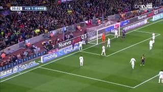 ملخص واهداف مبارة برشلونة 2-1 ريال مدريد || شاشة كاملة [22/3/2015] الشوالي [HD]