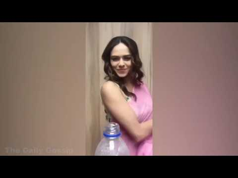 Bollywood Actress FUNNY Bottle Cap Challenge Compilation Video