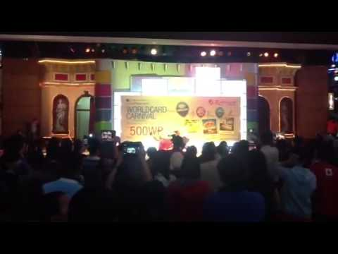 Genting World Card Launch Bubble Candies Dance