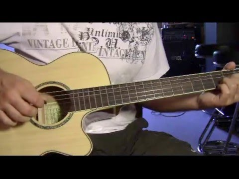 Tom Dice me and my Guitar guitar lesson - YouTube