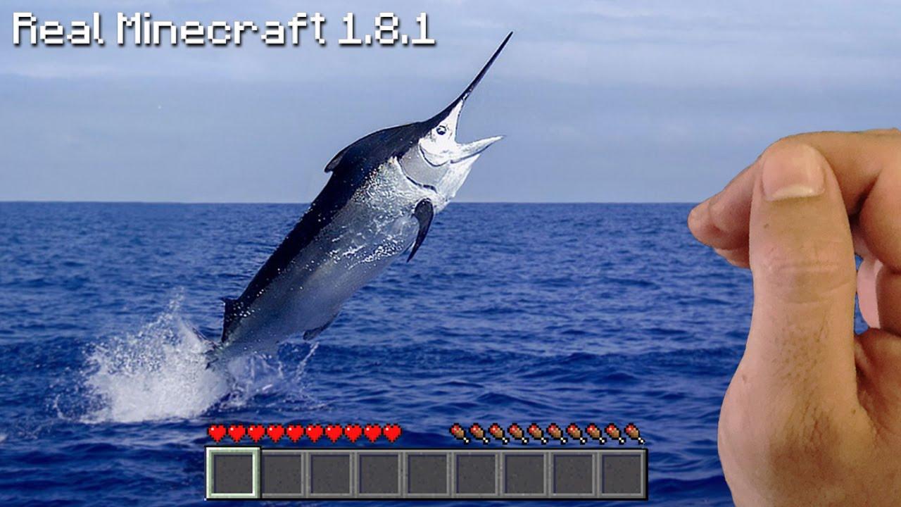 real life minecraft deep sea fishing youtube ForReal Life Fishing Games