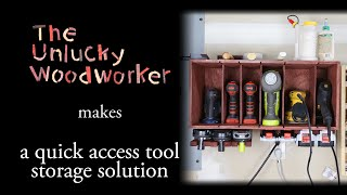 Building a Quick Access Tool Storage Solution