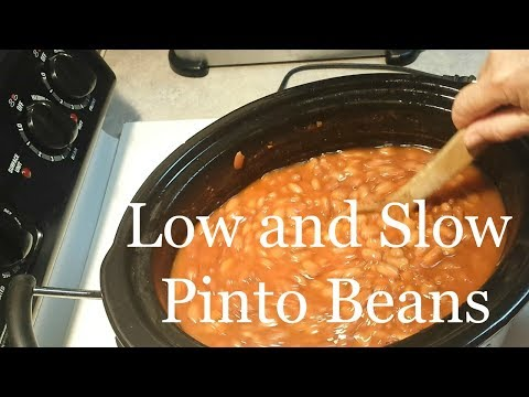 Creamy Slow Cooker Pinto Beans