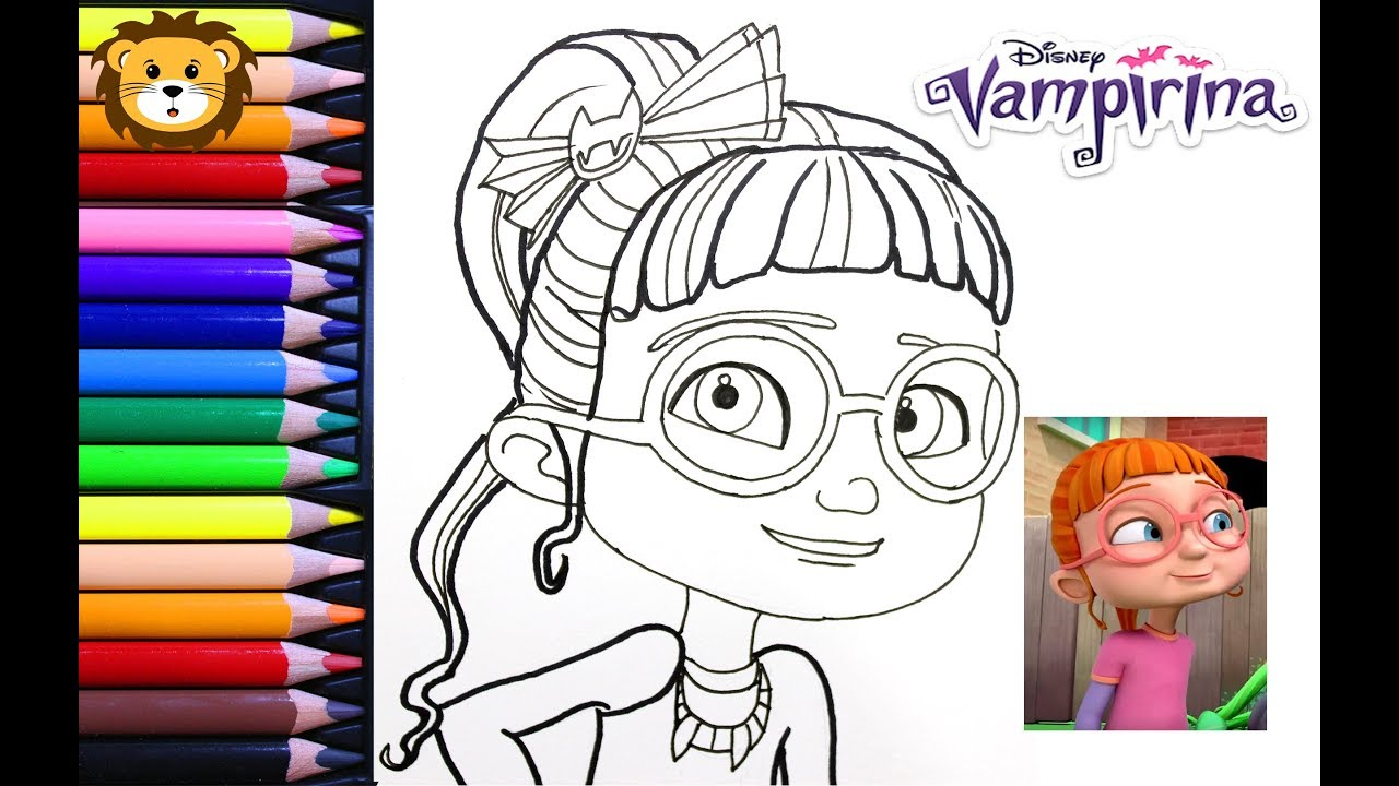 Como Dibujar Bridget Vampirina
