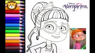How To Draw Color Vampirina Coloring Activity For Kids