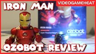 "Ozobot Evo Robot ""IRON MAN"" Review: Avenger"