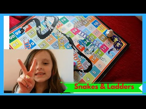 How To Play Snakes And Ladders\\games For Kids