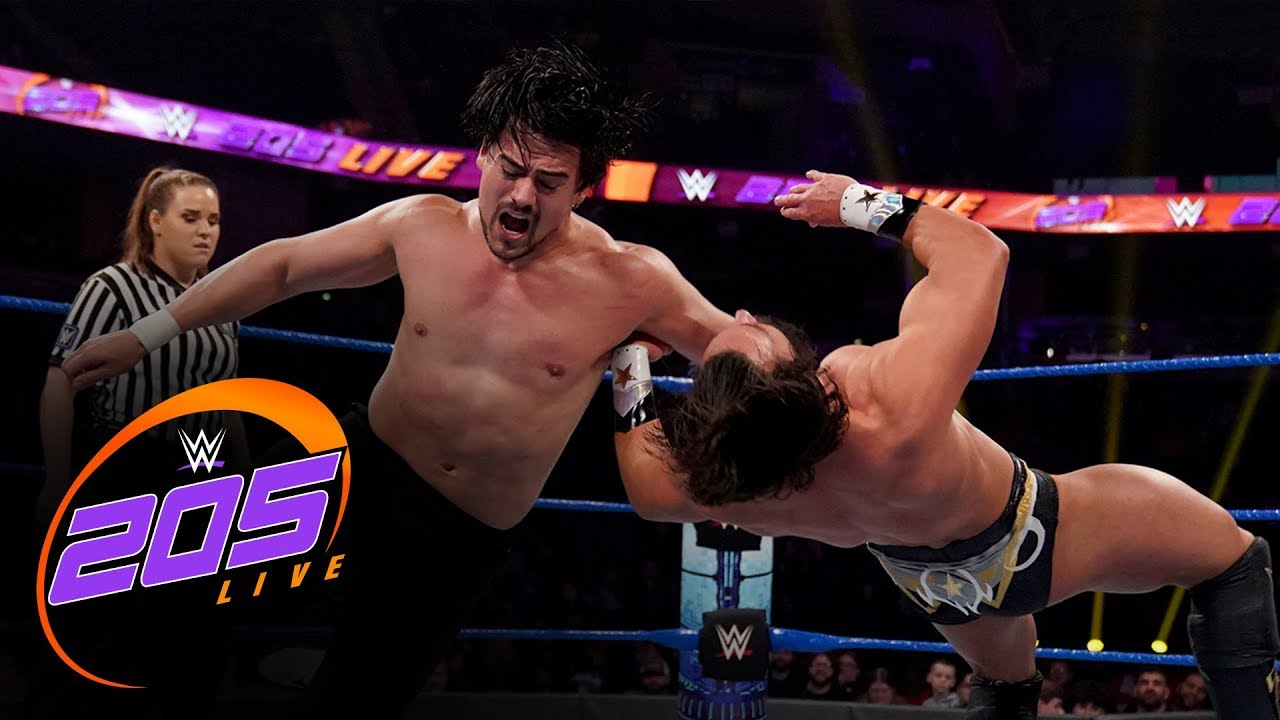Angel Garza vs. Tony Nese: WWE 205 Live, Jan. 3, 2020