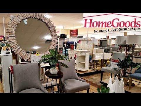 HomeGoods SHOP WITH ME BRIDE AND GROOM FURNITURE TOMMY HILFIGER WALL ART HOME DECOR IDEAS MAY 2018