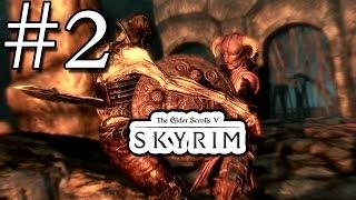 Skyrim Прохождение #2 - Золотой коготь