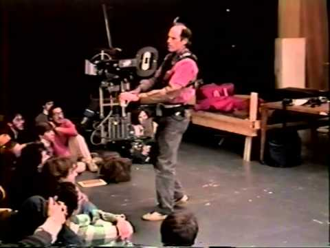 Steadicam | Ted Churchill | Steadicam legend speaking at NYU circa 1986