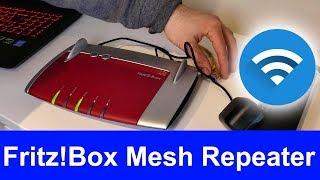fritz!Box als MESH WLAN Repeater einrichten