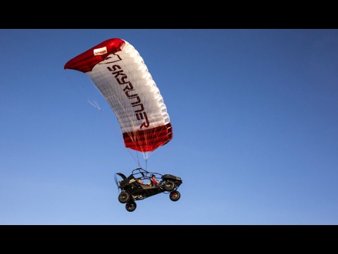 Flying car spotted in the Nevada desert :SkyRunner