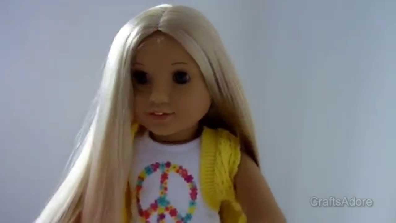 "American Girl Doll 18"" JULIE ALBRIGHT 2008 Original Outfit ...  |American Doll Julie Albright"