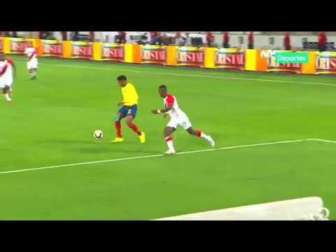 Perú 0-2 Ecuador: resumen y goles del partido - YouTube