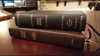 Comparison Review - Allan NKJV Single Column VS. Nelson Premie…