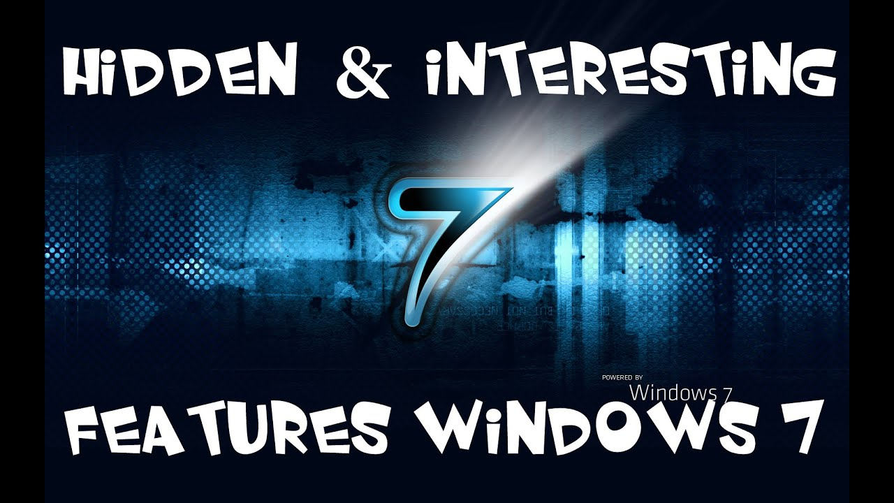 how to get hidden and dangours working on windows 7