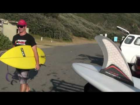Kevin Olsen Surfboards and the yellow fin tuna