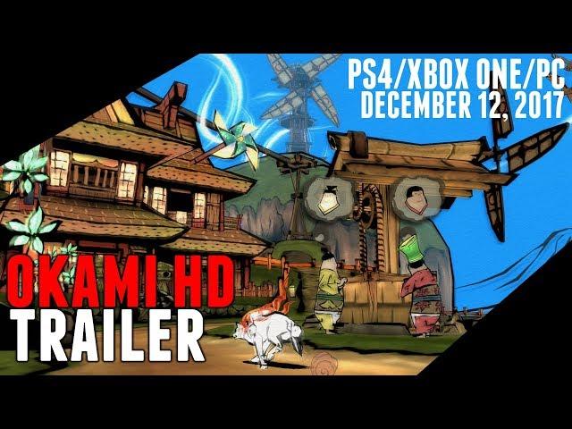 Capcom Confirms Okami HD For PS4/Xbox One/PC – The Outerhaven