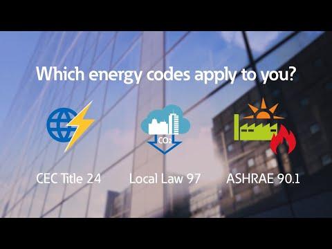 Energy code compliance