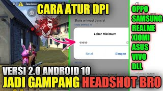 Cara Mengatur Dpi Hp Android Jadi Auto Headshot !! Cara Jadi Pro Player Free Fire - Yt Khadafi