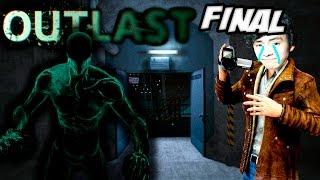 El fantasma me persigue!! - OUTLAST FINAL parte 11