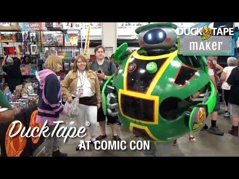 Duck Tape® at Comic Con