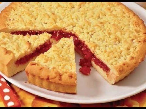 Рецепт венского пирога с вареньем