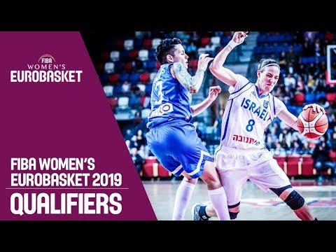 Israel v Greece - Full Game - FIBA Women's EuroBasket 2019 Qualifiers