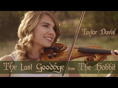 The Hobbit: The Last Goodbye (Violin Cover) Taylor Davis