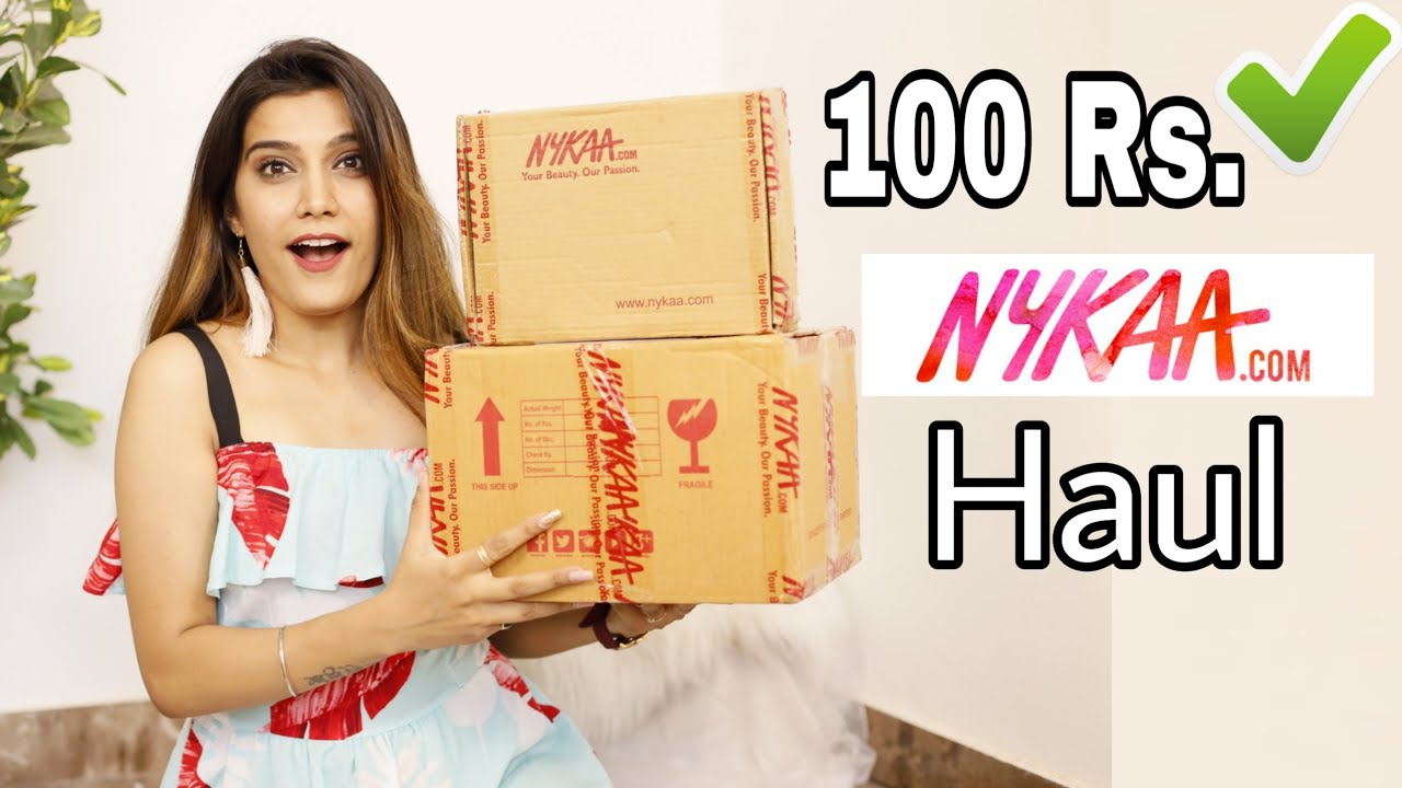 Under Rs.100 - Nykaa Sale Haul | Starts From 29.Rs Only + Affordable Gift Options | Super Style Tips