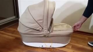 Видео обзор Виктория Голд Сатурн Лен (Victoria Gold SATURN LEN) коляска универсальная