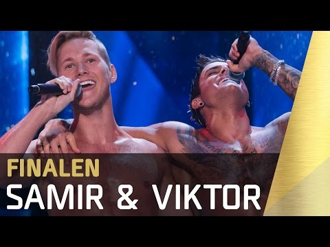 Samir & Viktor – Bada Nakna | Finalen | Melodifestivalen 2016