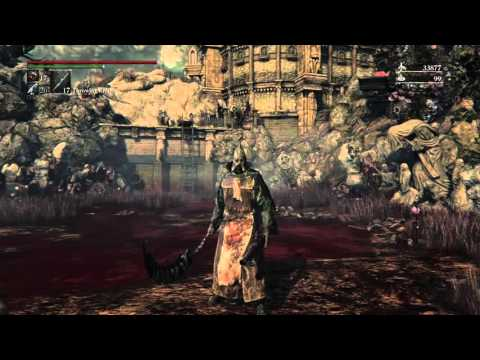 bloodborne how to set a lamp