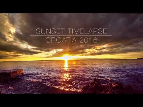 GoPro Sunset Timelapse - Croatia