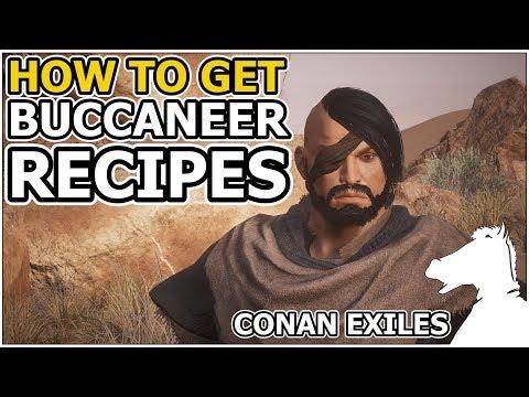 How to get Buccaneer Recipes | CONAN EXILES