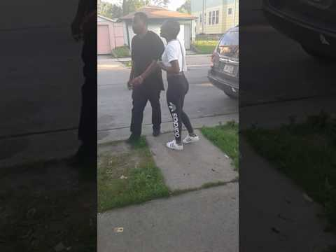 Boosie baby mamma fighting in Milwaukee