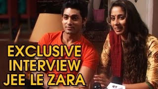 Dhruv & Saachi's EXCLUSIVE INTERVIEW of Jee Le Zara 13th September 2013 FULL EPISODE