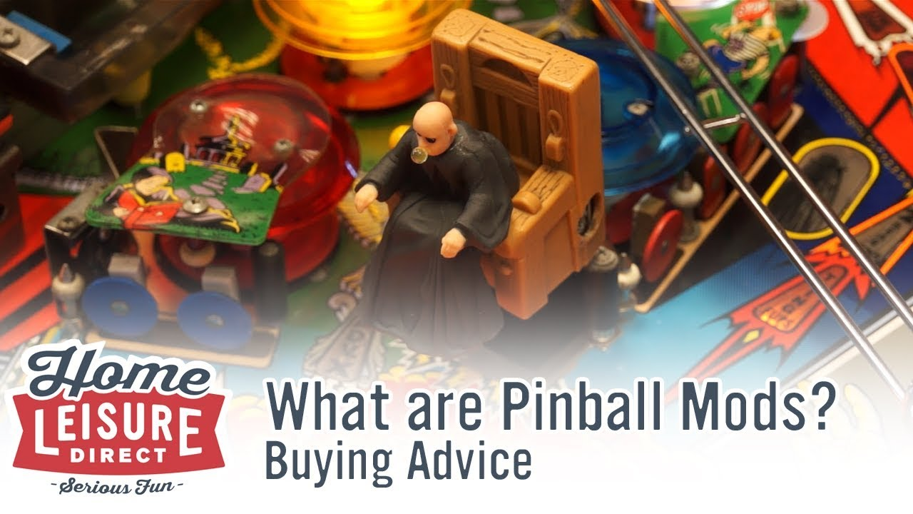 What are Pinball Mods? | Home Leisure Direct