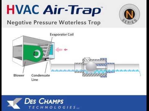 N-Series Air-Trap Negative Installation