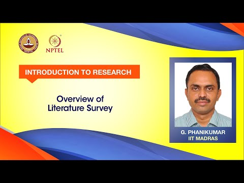 Overview of Literature Survey
