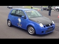 VW Lupo R30 Turbo 4motion vs Audi 80 VR6 Turbo Quattro VW Blasen 2013