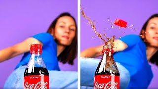 20 CRAZY HACKS WITH COCA COLA
